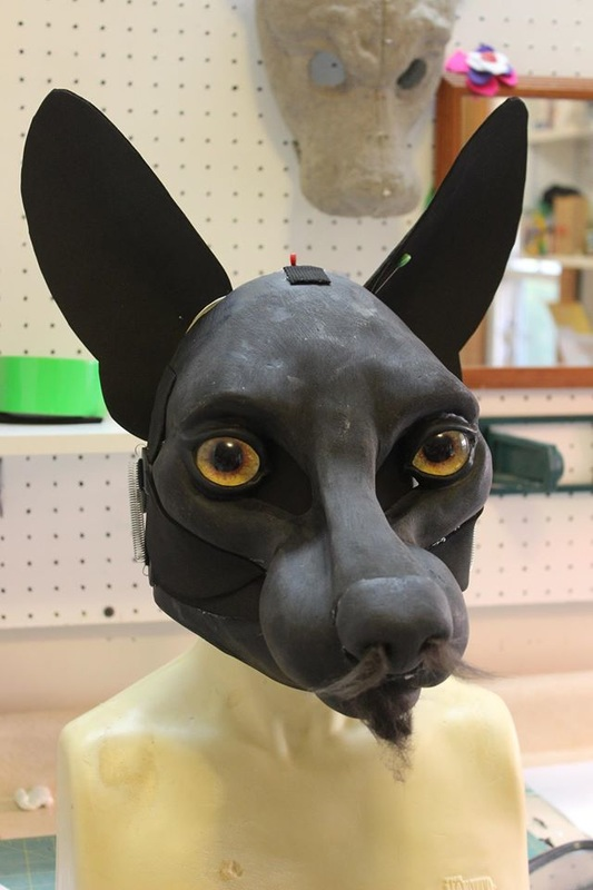 assembled dreamvision creations resin base with ears